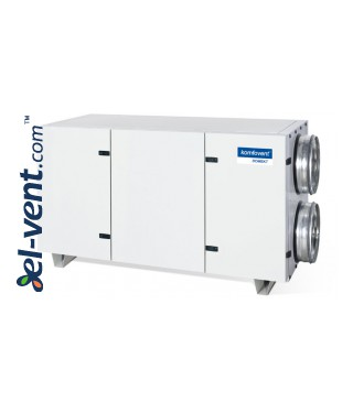 Heat and energy recovery unit with counterflow plate heat exchanger Domekt-CF-700-H, 651 m³/h