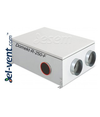 Rotacinis rekuperatorius Domekt-R-250-F, 250 m³/h