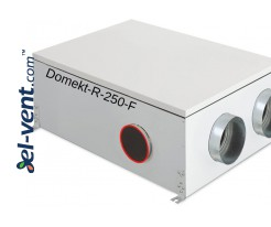 Rotary heat and energy recovery unit Domekt-R-250-F, 250 m³/h
