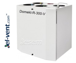 Rotary heat and energy recovery unit Domekt-R-300-V, 320 m³/h
