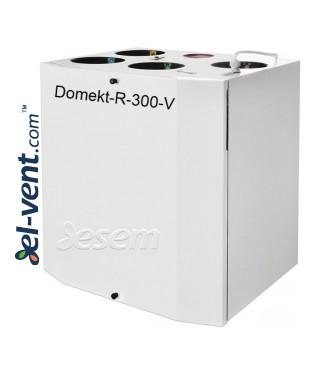 Приточно-вытяжная установка с ротационным теплообменником Domekt-R-300-V, 320 м³/ч