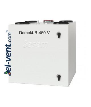 Приточно-вытяжная установка с ротационным теплообменником Domekt-R-450-V, 490 м³/ч