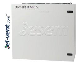Приточно-вытяжная установка с ротационным теплообменником Domekt-R-500-V, 630 м³/ч