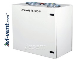 Rotacinis rekuperatorius Domekt-R-500-V, 630 m³/h