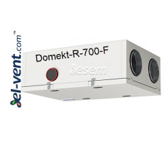 Rotary heat and energy recovery unit Domekt-R-700-F, 686 m³/h