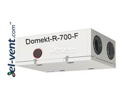 Приточно-вытяжная установка с ротационным теплообменником Domekt-R-700-F, 686 м³/ч