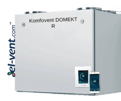 Air handling units with rotary heat exchanger Domekt R
