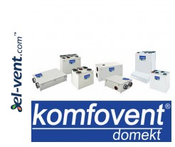 Air handling units with rotary heat exchanger Domekt REGO