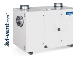 Heat recovery unit with rotary exchanger and heat pump RHP-800, 800 m³/h