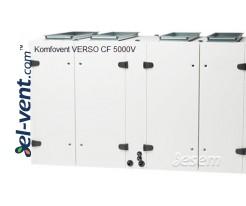 Приточно-вытяжная установка с противоточным теплообменником Verso-CF-5000-V, 4825 м³/ч