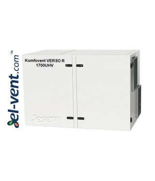 Приточно-вытяжная установка Verso-R-1700-U-H-V, 1780 м³/ч