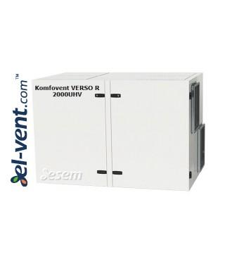 Rotacinis rekuperatorius Verso-R-2000-U-H-V, 2170 m³/h