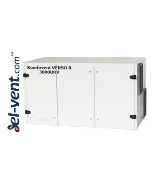 Rotacinis rekuperatorius Verso-R-3000-U-H-V, 3450 m³/h