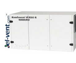 Rotacinis rekuperatorius Verso-R-4000-U-H-V, 3500 m³/h