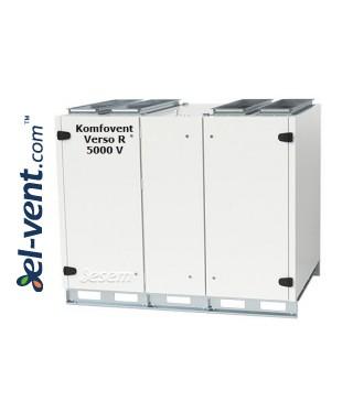 Rotacinis rekuperatorius Verso-R-5000-V, 5000 m³/h