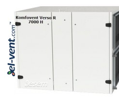 Rotary heat and energy recovery unit Verso-R-7000-H, 6680 m³/h