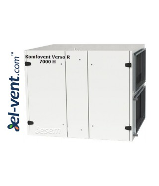 Rotacinis rekuperatorius Verso-R-7000-H, 6680 m³/h