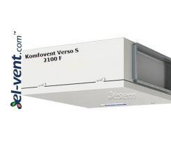 Oro tiekimo įrenginys Verso-S-2100-F, 1900 m³/h