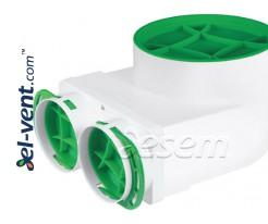 Антибактериальная коробка для диффузора ANTI-B-VPE125-2x75