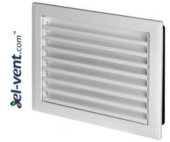 Metalinės ventiliacijos grotelės MP Serija