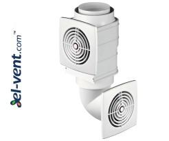 Hybrid ventilation systems