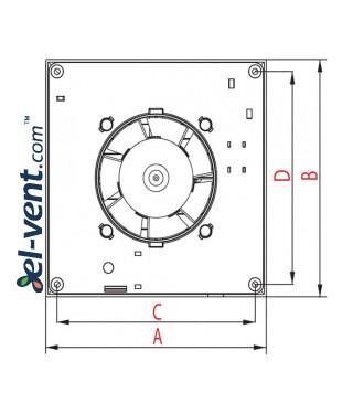 Drawing No.3 A-MATIC100, Ø100 mm