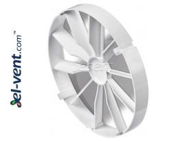 Atbuliniai vožtuvai vonios ventiliatoriams ZZ, Ø100-120-125-150 mm
