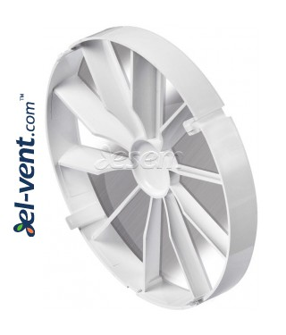 Backdraft damper for bathroom fan ZZ120, Ø120 mm