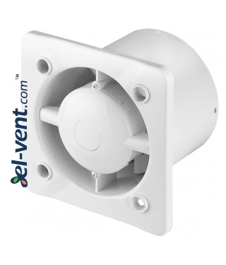 Silent extraction fan with ball bearings and timer HSF100T, Ø100 mm