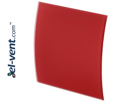 Interior panel PEGR100M - ESCUDO GLASS red matte