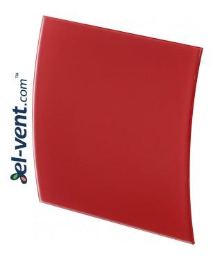 Dangtelis ventiliatoriui PEGR100M - raudonas matinis stiklas