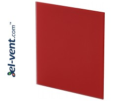 Interior panel PTGR100M - TRAX GLASS red matte