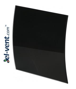Interior panel PEGB100P - ESCUDO GLASS black glossy