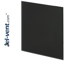 Interior panel PTGB100M - TRAX GLASS black matte