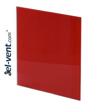 Interior panel PTGR125P - TRAX GLASS red glossy