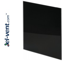 Interior panel PTGB100P - TRAX GLASS black glossy