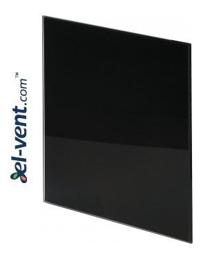 Interior panel PTGB125P - TRAX GLASS black glossy