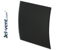 Interior panel PEGB100M - ESCUDO GLASS black matte