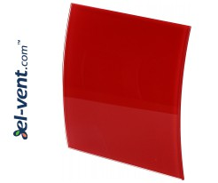 Interior panel PEGR100P - ESCUDO GLASS red glossy