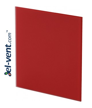 Interior panel PTGR125M - TRAX GLASS red matte