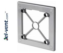 Mounting frame for interior panel RW125SZ grey