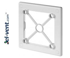 Mounting frame for interior panel RW100 white