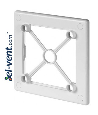 Mounting frame for interior panel RW125 white