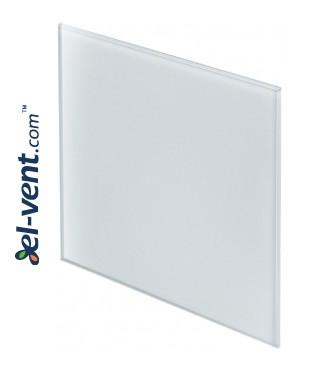 Панель вентилятора PTG100/125 - белое матовое стекло