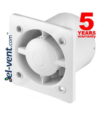 Bathroom fan with ball bearings and pull switch cord SISTEMA+125W, Ø125 mm