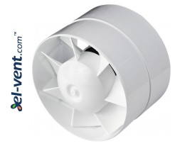 Duct fan with ball bearings and timer TURBO150T, Ø150 mm