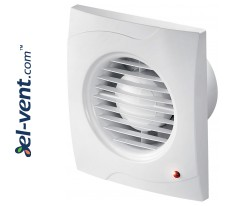 Bathroom fan with pull switch cord VECCO100W, Ø100 mm