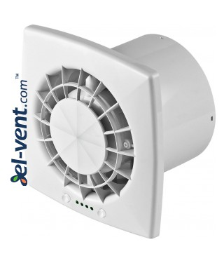 Silent fan with a very low noise level, timer, speed controller and ball bearings VEGA125CTR, Ø125 mm