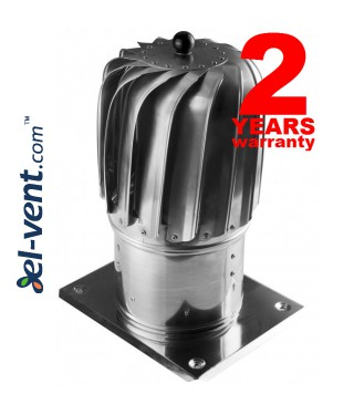 Cylinder rotating chimney cowl - aluminum