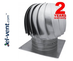 Rotating chimney cowl with ball bearings TURBO-160, Ø160 mm